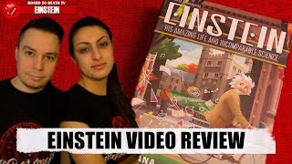 Einstein Board Game Video Review