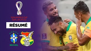 Résumé : Le Brésil colle une manita à la Bolivie avec un grand Neymar !