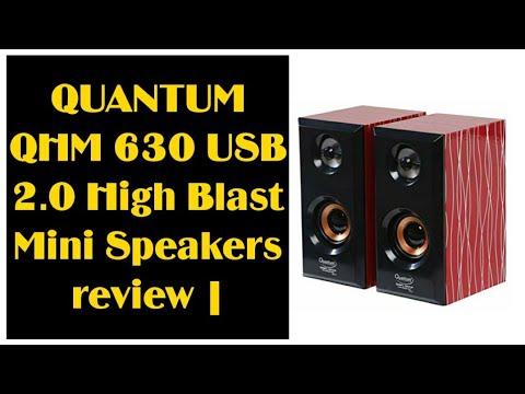 QUANTUM QHM 630 USB 2.0 High Blast Mini Speakers review |