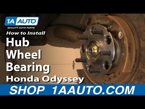 How to Replace Wheel Bearing & Hub Assembly 99-04 Honda Odyssey