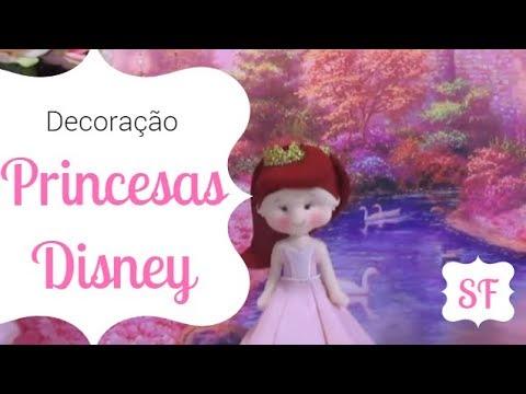 Decoração l Princesas da Disney