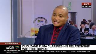 Duduzane Zuma at the State Capture Commission