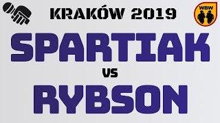 SPARTIAK vs RYBSON WBW2K19 Kraków (1/2) Freestyle Battle