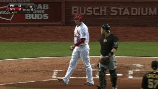 Hit batters, ejections set tone at Busch Stadium