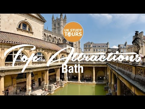 Bath Top Attractions - UK Study Tours