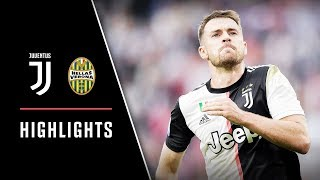 HIGHLIGHTS: Juventus vs Hellas Verona - 2-1 - Aaron Ramsey scores home debut goal!