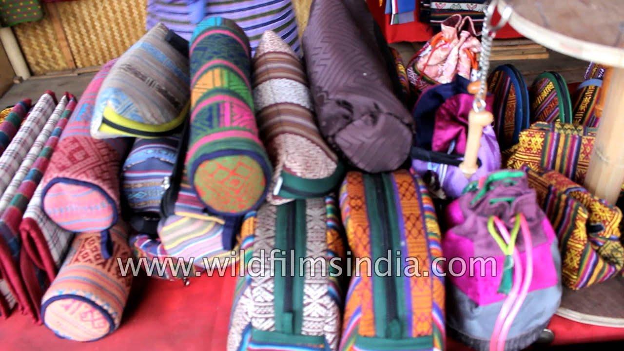 Abc Market In Thumphu Bhutan Bhutanese Knick Knacks For Sale