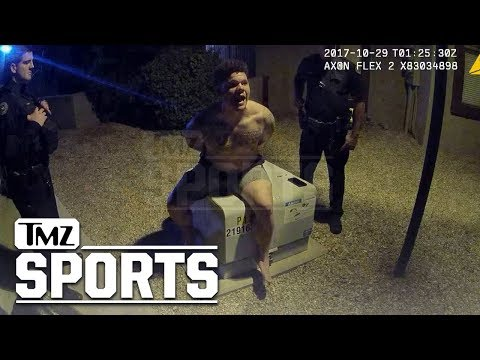 MLB's Bruce Maxwell Cussed Out Cops In Arrest Video, 'This Is Why I Took a Knee' | TMZ Sports