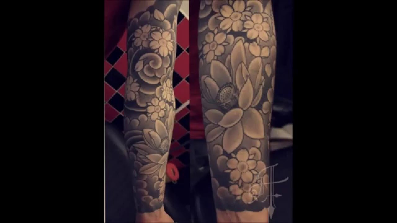 Tatuajes Para Hombre Y Mujer De Flores Japonesas Youtube