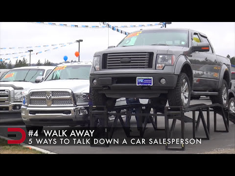 5 Ways To Talk Down a Car Salesman on Everyman Driver