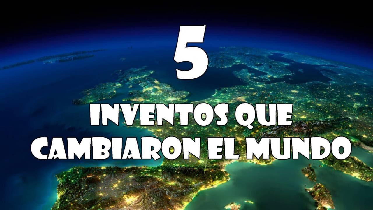 6 inventos que cambiaron al mundo