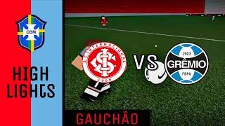 ROBLOX [CBM] • Internacional vs Grêmio • Gauchão Highlights • HD