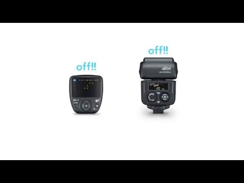 Nissin Digital - pair my Commander Air 1 and i60A Flashgun