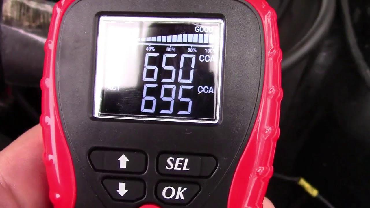 Suner Power 12v Car Battery Tester Review