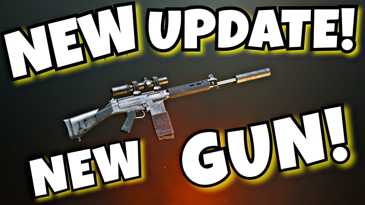 New Gun And Layout In Update 070 PUBG MOBILE YouTube