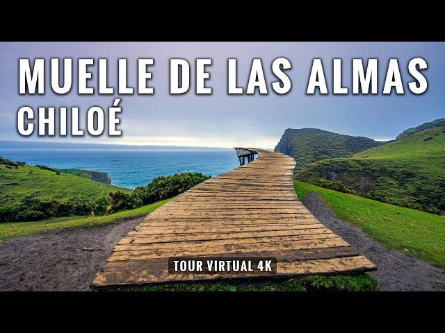 Muelle de las Almas de Chiloé en 4K: Trekking 5 Kms en Cucao