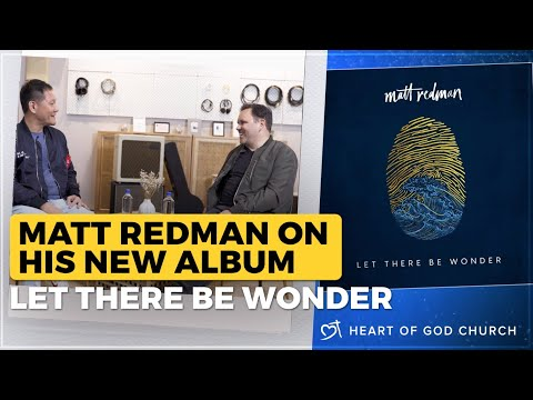 Matt Redman - Let There Be Wonder | Interview by Pastor Tan Seow How (Pastor How)