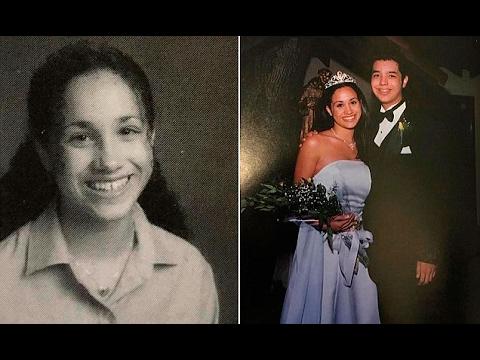 Meghan Markle high school prom photos