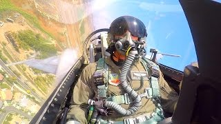 F-16 VIPER DEMO (COCKPIT VIEW)