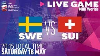 Sweden vs. Switzerland | Full Game | 2019 IIHF Ice Hockey World Championship