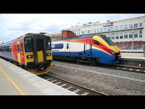 Trains at Nottingham 16/07/18