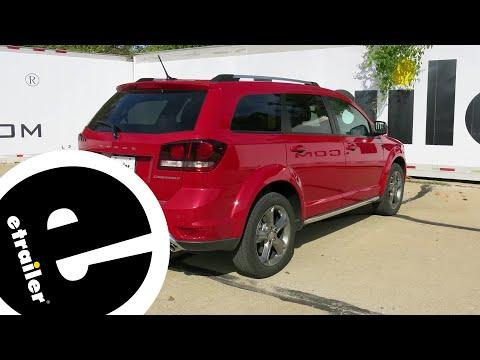 Trailer Hitch Installation - 2016 Dodge Journey - Curt - etrailer.com