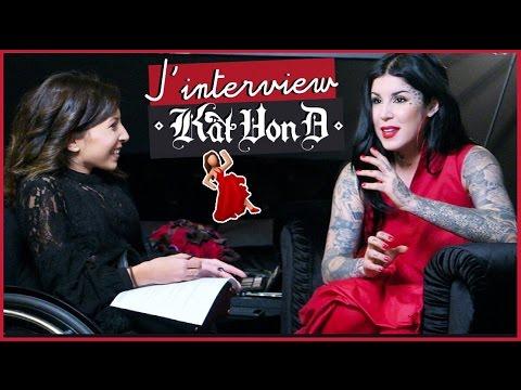 ♡ INTERVIEW avec Kat Von D (Lancement en FRANCE !)