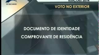 Jornalismo - Justiça eleitoral tem regras para o voto de brasileiro no exterior