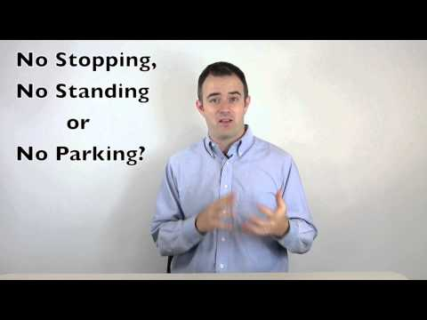 What Parking Sign Am I?
