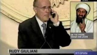 Rudy Giuliani Speaks to Osama bin Laden Bill Maher
