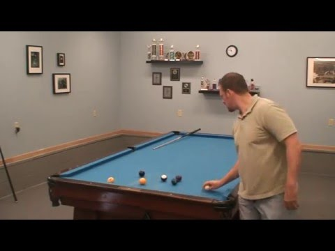 "125 Ball Run On My 10 Foot Brunswick Pool Table ""Bowling""  ""How To Play"""