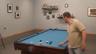 125 Ball Run On My 10 Foot Brunswick Pool Table Bowling How To Play