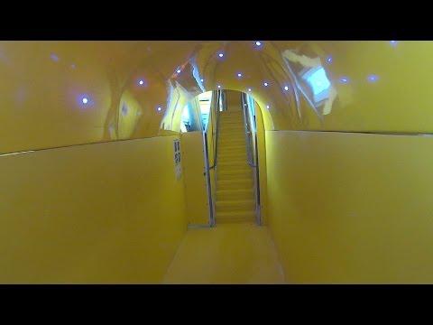 Yellow Vortex Water Slide at Lost City