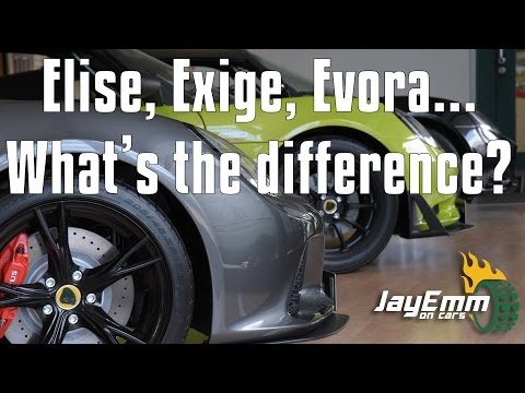 Lotus Elise, Exige and Evora - What's the Difference? Which one is best for you?