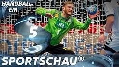 Paraden-Parade: Jogi Bitter auch bei Deutschland gegen Tschechien top | Handball-EM | Sportschau