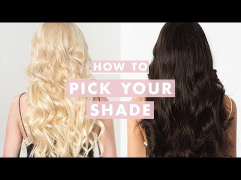 How to Pick Your Perfect Luxy Hair Extensions Shade | Luxy Hair