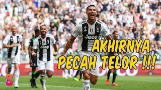 Pecah Telor !!! Akhirnya Ronaldo Cetak Gol Bagi Juventus