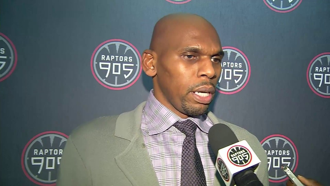 Raptors 905 Post Game Jerry Stackhouse January 2 2017