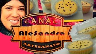 06# Sabonete Artesanal - Mousse De Maracujá [Nível Fácil] lembrancinha