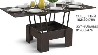 Сборка Стола Трансформер из Много Мебели
