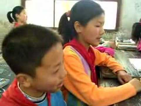 Huxian Elementary Kids Singing 3243