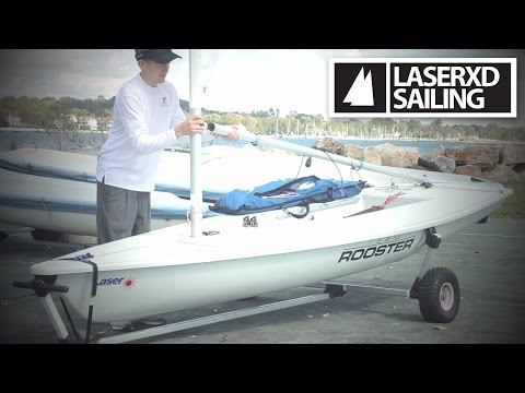 Rigging Your Laser Sailboat In Less Than 5 Minutes [HD]