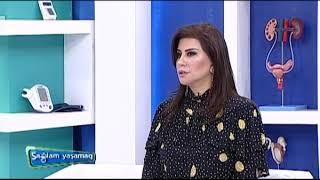 """02.05.2018 """"Sağlam Yaşamaq"""" verilişinin qonağı Mama-Ginekoloq T.e.n. Dr. Mahirə İsmayılova"""