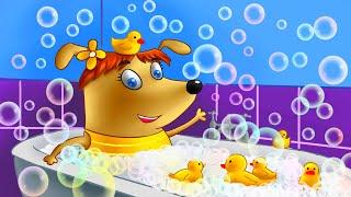 Развивающие мультики для детей | Семейка собачек | Щенки Бублик и Кисточка - Мультики для детей