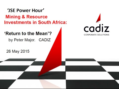 JSE Power Hour: The State of Mining in South Africa
