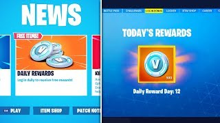 *NEW* FREE DAILY LOGIN REWARDS in Fortnite Battle Royale (Fortnite SUMMER EVENT Daily Rewards)