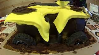 Торт квадроцикл