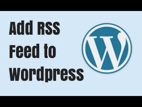 Wordpress RSS Feeds and Feedburner Setup