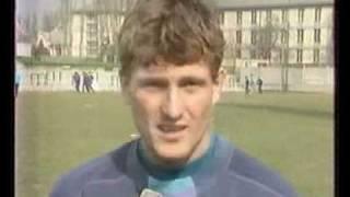 Telesport részlet 1992.03.09. MTV1 - Romanek János sérülése thumbnail