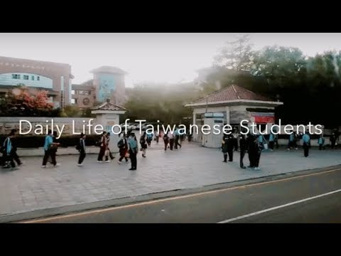 Daily life of Taiwanese students